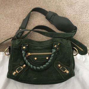 Cuna piel Obediente  Balenciaga Bags | Balenciaga Classic City Bag Mini Suede | Poshmark